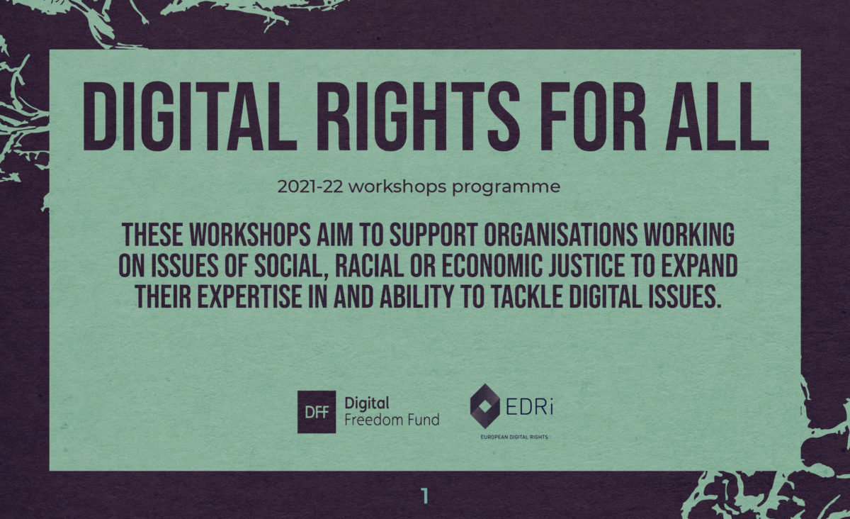Nothing About Us, Without Us: Introducing Digital Rights for All